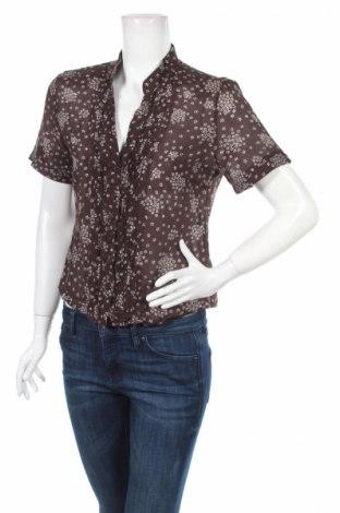 Дамска риза La Femme, Размер M, Цвят Кафяв, 65% памук, 35% полиестер, Цена 21,00лв.