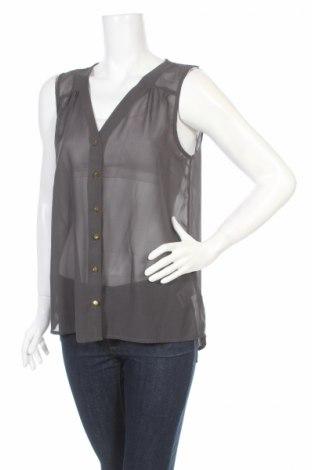 Γυναικείο πουκάμισο Only, Μέγεθος L, Χρώμα Γκρί, 100% πολυεστέρας, Τιμή 4,82€