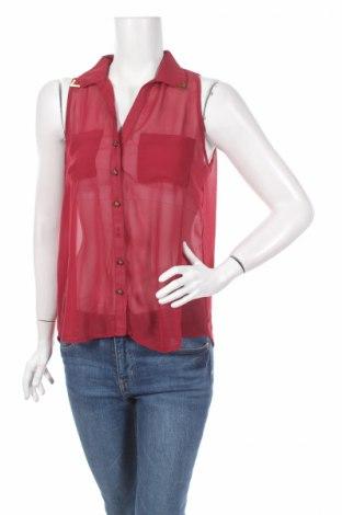 Γυναικείο πουκάμισο Ruby Tuesday, Μέγεθος M, Χρώμα Κόκκινο, Τιμή 3,67€