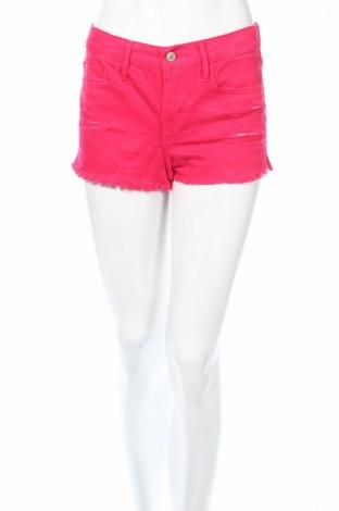 Dámske kraťasy  Abercrombie & Fitch, Veľkosť S, Farba Ružová, Bavlna, Cena  3,15€
