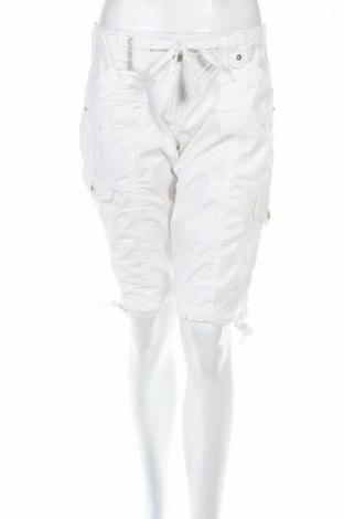 Γυναικείο κοντό παντελόνι Red Herring, Μέγεθος M, Χρώμα Λευκό, 100% βαμβάκι, Τιμή 4,42€