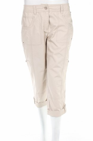 Дамски панталон Bonita, Размер M, Цвят Бежов, Памук, Цена 6,58лв.
