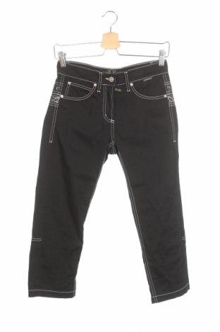 Дамски панталон Cappopera, Размер XS, Цвят Черен, 97% памук, 3% еластан, Цена 10,00лв.