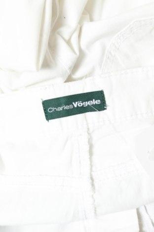 Дамски панталон Charles Vogele, Размер M, Цвят Бял, Цена 22,80лв.