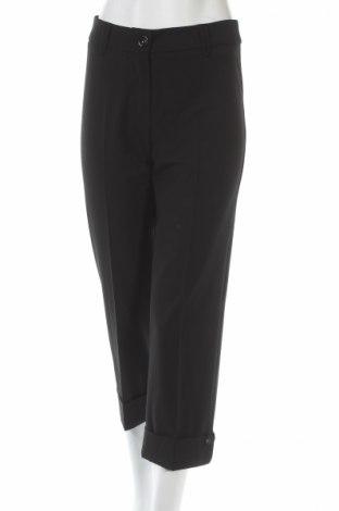 Дамски панталон Gerry Weber, Размер XS, Цвят Черен, 62% полиестер, 33% вискоза, 5% еластан, Цена 17,25лв.