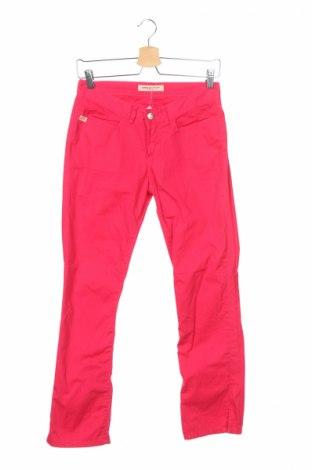Дамски панталон Miss Sixty, Размер XS, Цвят Розов, 100% памук, Цена 16,12лв.