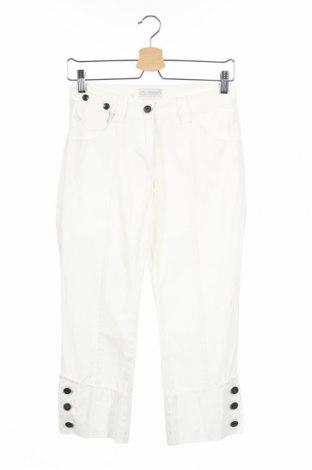 Дамски панталон Stratt, Размер XS, Цвят Бял, Цена 11,56лв.