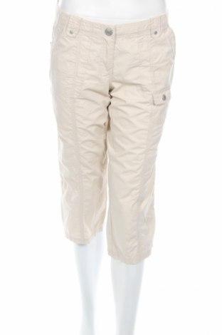 Дамски панталон Street One, Размер M, Цвят Бежов, Памук, Цена 6,72лв.