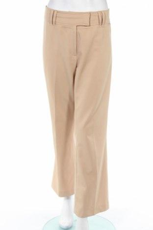 Дамски панталон Tom Tailor, Размер M, Цвят Бежов, 97% полиестер, 3% еластан, Цена 10,16лв.