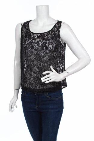 Γυναικείο αμάνικο μπλουζάκι American Apparel, Μέγεθος M, Χρώμα Μαύρο, 90% πολυαμίδη, 10% ελαστάνη, Τιμή 4,82€