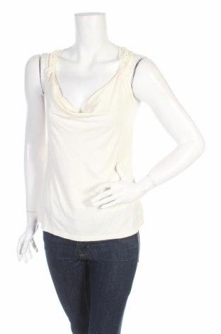Γυναικείο αμάνικο μπλουζάκι Bodyflirt, Μέγεθος S, Χρώμα Εκρού, 95% βισκόζη, 5% ελαστάνη, Τιμή 4,42€