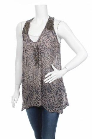 Γυναικείο αμάνικο μπλουζάκι Bon'a Parte, Μέγεθος M, Χρώμα Καφέ, Βισκόζη, Τιμή 2,63€
