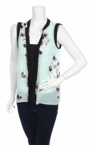 Γυναικείο αμάνικο μπλουζάκι Ellen Tracy, Μέγεθος M, Χρώμα Πολύχρωμο, Πολυεστέρας, Τιμή 4,80€