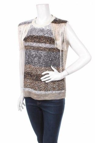 Γυναικείο αμάνικο μπλουζάκι Geisha, Μέγεθος S, Χρώμα Πολύχρωμο, Πολυεστέρας, Τιμή 2,78€