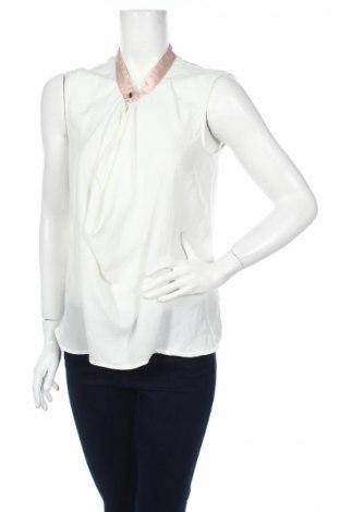 Γυναικείο αμάνικο μπλουζάκι Gok For Tu, Μέγεθος M, Χρώμα Λευκό, Πολυεστέρας, Τιμή 2,84€