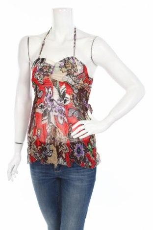 Γυναικείο αμάνικο μπλουζάκι Kaos, Μέγεθος S, Χρώμα Πολύχρωμο, Μετάξι, Τιμή 3,69€