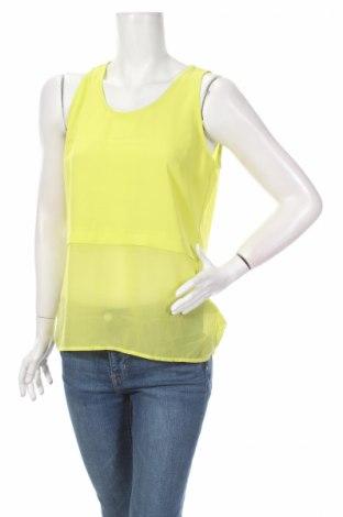 Дамски потник Takko Fashion, Размер M, Цвят Зелен, 98% полиестер, 2% еластан, Цена 4,50лв.