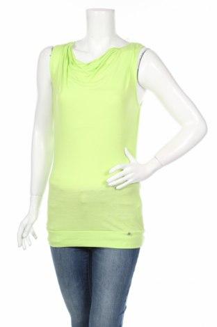 Γυναικείο αμάνικο μπλουζάκι Tom Tailor, Μέγεθος XS, Χρώμα Πράσινο, 65% πολυεστέρας, 35% βισκόζη, Τιμή 1,03€