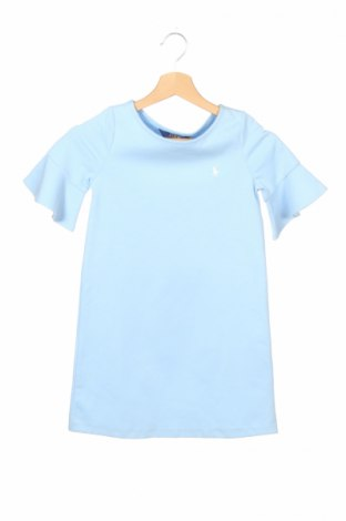 Detské šaty  Polo By Ralph Lauren, Veľkosť 6-7y/ 122-128 cm, Farba Modrá, 84% bavlna, 14% polyester, 2% elastan, Cena  23,66€
