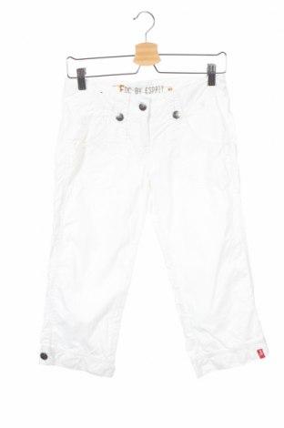 Детски панталон Edc By Esprit, Размер 14-15y/ 168-170 см, Цвят Бял, 100% памук, Цена 8,77лв.