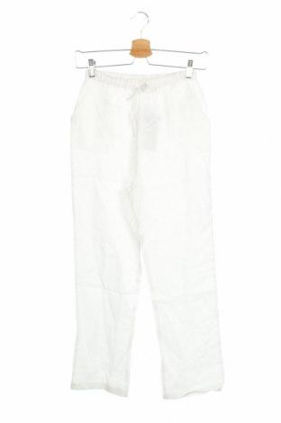 Detské nohavice  Vaara, Veľkosť 11-12y/ 152-158 cm, Farba Biela, 100% ľan, Cena  8,35€