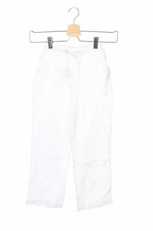 Pantaloni de copii Vaara, Mărime 5-6y/ 116-122 cm, Culoare Alb, 100% in, Preț 44,94 Lei