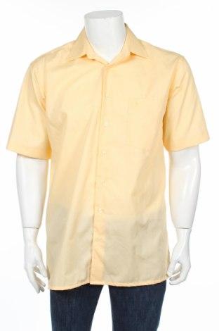 Ανδρικό πουκάμισο Ahlemeyer, Μέγεθος L, Χρώμα Κίτρινο, Τιμή 1,78€