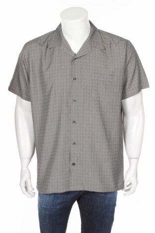 Ανδρικό πουκάμισο Mossimo, Μέγεθος L, Χρώμα Γκρί, 55% βισκόζη, 45% πολυεστέρας, Τιμή 15,41€