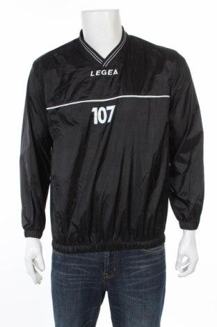 Мъжка спортна блуза Legea, Размер S, Цвят Черен, 100% полиамид, Цена 12,35лв.