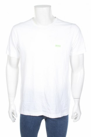 Ανδρικό t-shirt Hugo Boss, Μέγεθος XL, Χρώμα Λευκό, 100% βαμβάκι, Τιμή 29,15€