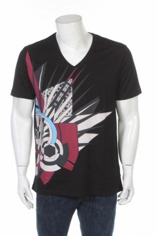 Pánské tričko  Versace, Rozměr XL, Barva Černá, Bavlna, Cena  1601,00Kč