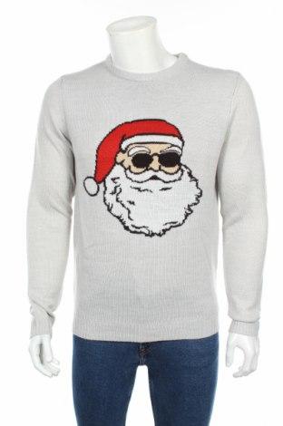 Ανδρικό πουλόβερ Only & Sons, Μέγεθος S, Χρώμα Γκρί, Ακρυλικό, Τιμή 35,57€