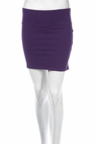 Φούστα Clockhouse, Μέγεθος M, Χρώμα Βιολετί, 95% βαμβάκι, 5% ελαστάνη, Τιμή 5,31€