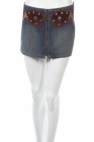 Пола Pepe Jeans, Размер M, Цвят Син, Памук, Цена 51,64лв.