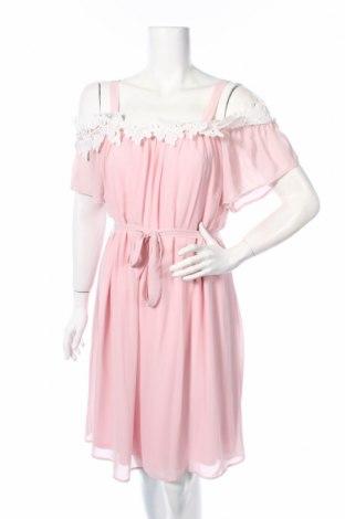 Šaty  Comma,, Veľkosť S, Farba Ružová, Viskóza, Cena  25,36€