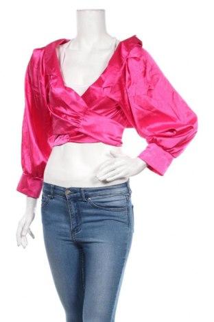 Bolero  Boohoo, Veľkosť L, Farba Ružová, 97% polyester, 3% elastan, Cena  13,36€