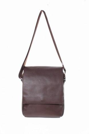 Τσάντα Kiomi, Χρώμα Καφέ, Δερματίνη, Τιμή 21,71€