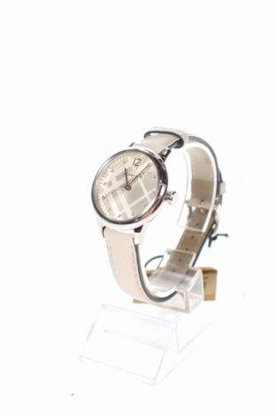 Ρολόι Burberry, Χρώμα  Μπέζ, Γνήσιο δέρμα, μέταλλο, Τιμή 417,90€