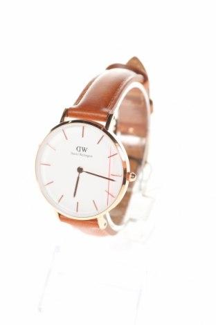 Ρολόι Daniel Wellington, Χρώμα Καφέ, Γνήσιο δέρμα, μέταλλο, Τιμή 119,83€