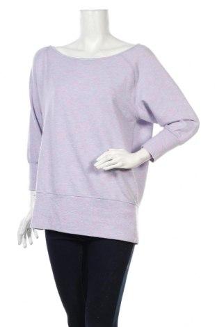 Дамска блуза Active By Tchibo, Размер M, Цвят Лилав, 63% полиестер, 32% вискоза, 5% еластан, Цена 21,61лв.