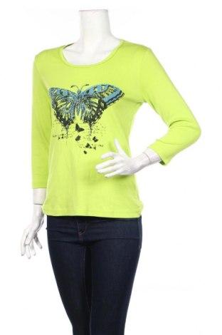 Γυναικεία μπλούζα Brandtex, Μέγεθος M, Χρώμα Πράσινο, Βαμβάκι, Τιμή 17,83€