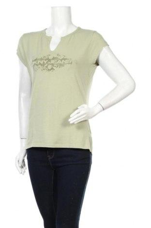 Дамска блуза DKNY Jeans, Размер XL, Цвят Зелен, 91% памук, 9% еластан, Цена 28,00лв.