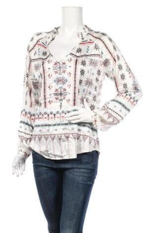 Дамска блуза Dea Kudibal, Размер M, Цвят Многоцветен, 66% коприна, 26% вискоза, 8% еластан, Цена 37,04лв.