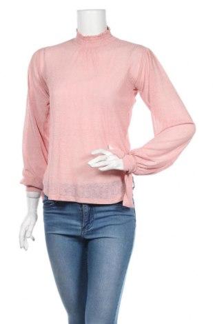 Dámska blúza Pieces, Veľkosť XS, Farba Ružová, 100% polyester, Cena  8,89€