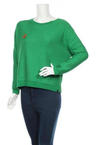 Γυναικεία μπλούζα Scotch & Soda, Μέγεθος S, Χρώμα Πράσινο, 62% βισκόζη, 35% πολυεστέρας, 3% ελαστάνη, Τιμή 22,80€