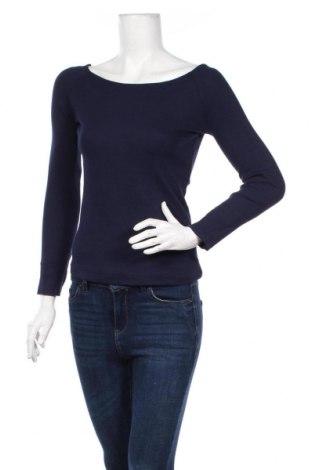 Дамска блуза Sinsay, Размер XS, Цвят Син, 95% памук, 5% еластан, Цена 28,08лв.