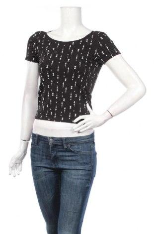 Γυναικεία μπλούζα Sinsay, Μέγεθος S, Χρώμα Μαύρο, 95% βαμβάκι, 5% ελαστάνη, Τιμή 5,32€