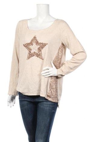 Γυναικεία μπλούζα Street One, Μέγεθος XL, Χρώμα  Μπέζ, Τιμή 10,18€