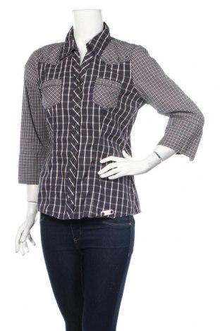 Γυναικεία μπλούζα Street One, Μέγεθος L, Χρώμα Μπλέ, 69% βαμβάκι, 28% πολυαμίδη, 3% ελαστάνη, Τιμή 10,82€