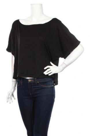 Γυναικεία μπλούζα Yfl Reserved, Μέγεθος XS, Χρώμα Μαύρο, 50% βισκόζη, 50% βαμβάκι, Τιμή 6,66€